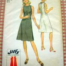 Misses Keyhole Back  Dress Vintage 70s Pattern Simplicity 9405