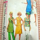 Dress, Tunic, Top, Skirt and Pants Vintage 60s Pattern Simplicity 5929