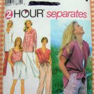 Misses Top, Shorts, Tunic and Pants Sewing Pattern Simplicity 9518