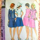 McCall's 3530 Drop Waist Dress and Jacket Vintage 70s Sewing Pattern