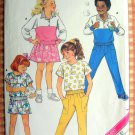 Girl's or Boy's 80s Separates Butterick 4668 Vintage Sewing Pattern