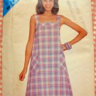 Misses Sun Dress Butterick See & Sew 5018 Vintage 70s Pattern