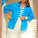 Vintage 80s Pattern Misses Jacket., Top and Skirt Butterick See & Sew 5498