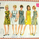 Mod 1960s Dress Vintage Sewing Pattern Butterick 4668