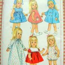 "18""  Doll Clothing Vintage 60s Sewing Pattern Simplicity 6768"