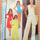 McCall's 5440 Misses Menswear Tailored Separates Vintage 70s Sewing Pattern