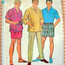 """mad men style bermuda shorts vintage sewing pattern Simplicity 7145 38"""""""