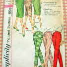 Misses Tailored Skirts and Skinny Pants Vintage 50s Sewing Pattern Simplicity 3257
