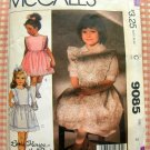 Sundress and Pinafore Vintage 80s Sewing Pattern McCalls 9085