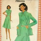 Vintage Vogue Sewing Pattern 9118  Misses Dress and Jacket