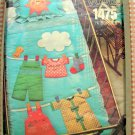 Vintage Little Vogue Sewing Pattern 1475 Crib Quilt