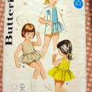 Girls Swimsuit and Tennis Dress 50s vintage sewing pattern Butterick 3096