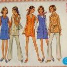Half-size jumper, blouse & pants Vintage 70s Pattern Butterick 5680