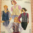 Vintage Sewing Pattern McCall&#39;s 0021 Misses&#39; Vests