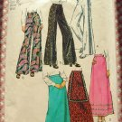 Simplicity 5361 Misses Plus Size Maxi Skirt and Pants 70s Vintage Sewing Pattern