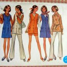 Misses Jumper, blouse & pants Vintage 70s Pattern Butterick 5680