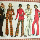 Half Size Shirt Jacket and Pants Vintage Sewing Pattern Simplicity 5247