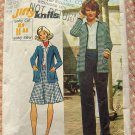 Misses Cardigan, Skirt and Pants Vintage Sewing Pattern Simplicity 5452