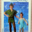 Disney Tinkerbell & Peter Pan Costume Sewing Pattern Simplicity 7784