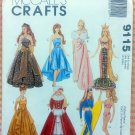 Barbie Doll Clothes Mermaid, Christmas Vintage Sewing Pattern McCall's 9115