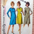 Juniors A-Line Dress or Jumper Vintage 60s Sewing Pattern Simplicity 5741