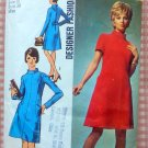 Simplicity 8909 Misses Dress 70s Vintage Sewing Pattern
