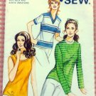 Ladies Knit Top Kwik Sew 303 Vintage Sewing Pattern