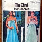Maxi Skirt and Wrap Dress Vintage 70s Pattern Butterick 4843