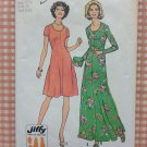 Plus Size 70s Maxi Dress Vintage Sewing Pattern Simplicity 7030