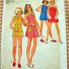 Little Girl's Romper and Dress Vintage 60s Pattern Simplicity 6426