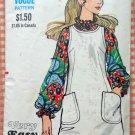 Misses Jumper and Blouse Vintage 70s Sewing Pattern Vogue 7808
