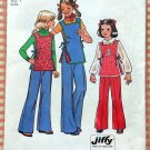 Girls' Pants and Reversible Tunic Simplicity Vintage Sewing Pattern 7691