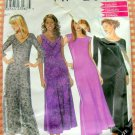 Misses Ankle-Length Dress Vintage 90s New Look Sewing Pattern 6925