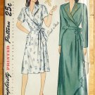 40s Vintage Sewing Pattern Housecoat or Robe Simplicity 1799
