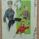 Misses' 50s Jacket Set Vintage Sewing Pattern McCall's 3936