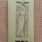 Misses 1930's Dress Vintage Mail Order Pattern Marian Martin 9195
