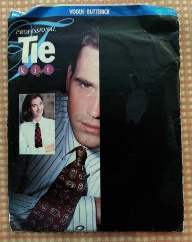 Men's Professional Tie Kit Vogue Butterick 981 vintage sewing pattern