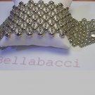 Liquid Metal Fringe Cuff Design Bracelet