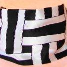 Rachel Weissman Headband Black and White cross design