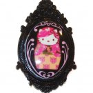 Tarina Tarantino Jewelry Hello Kitty Black Portrait Ring