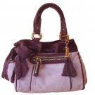 Juicy Couture Handbag RHINESTONE-DETAIL DAY DREAMER Purple