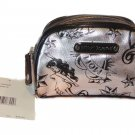 Betsey Johnson Cosmetic Case Betseys Parlor Silver
