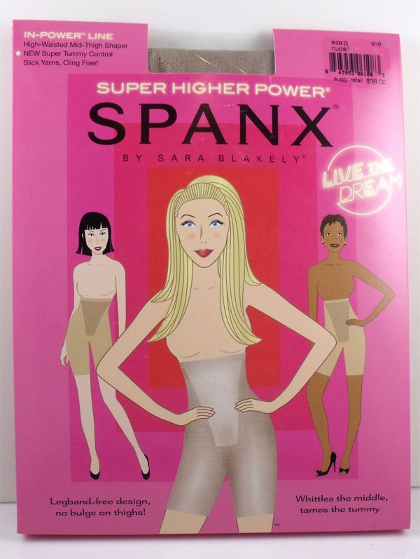 Spanx Super Higher Power Bare Size B
