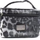 Betsey Johnson Cosmetic Case Kats Eye Train Case Grey