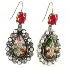 Betsey Johnson Jewelry Royal Engagement Fleur De Lis Drop Earrin