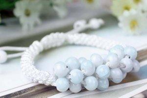 HANDMADE Porcelain beads bracelet sweet colorful