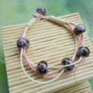 HANDMADE Porcelain beads bracelet violet