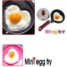 Heart Style Lovely EGG Frying Pan Wooden Handle