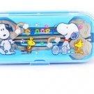 Snoopy Cute Tableware Set (Blue)