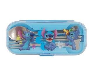 Cute Stitch Tableware Set (Blue)